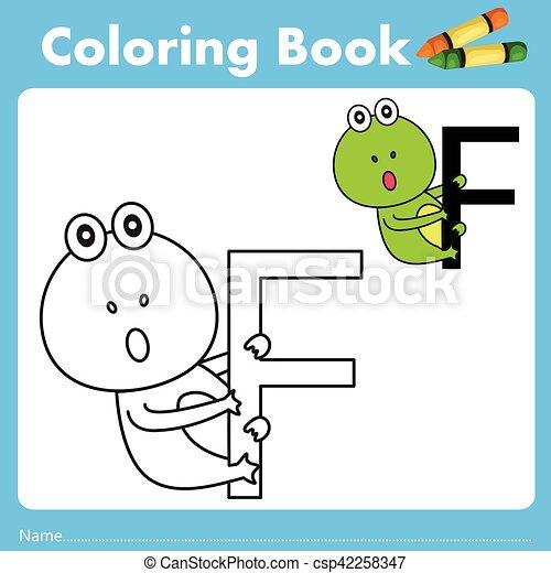 Farbe, buch, illustrator, tier, frosch EPS Vektor - Suche Clipart ...