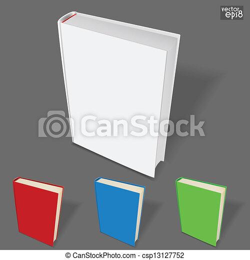 Farbe, buch, veränderungen, schablone Clipart Vektor - Suche ...