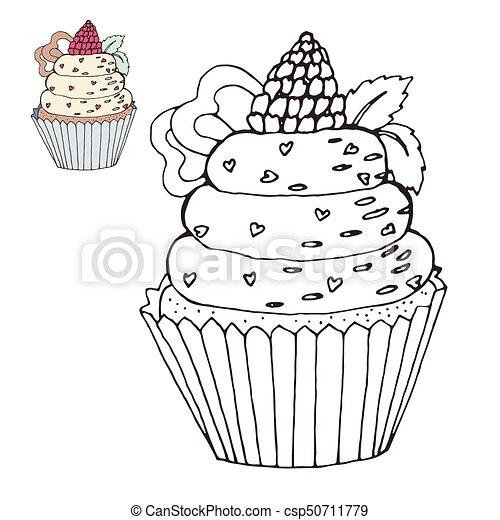 Erfreut Geburtstag Cupcake Färbung Seite Galerie - Ideen färben ...