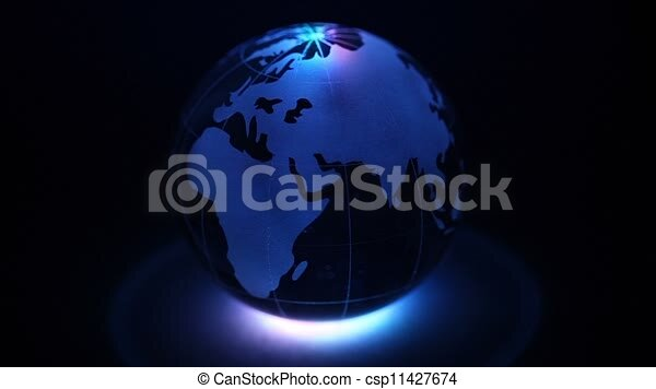 Farbe, glas, erde, beleuchtung, kugelförmig. Kugelförmig, farbe ...