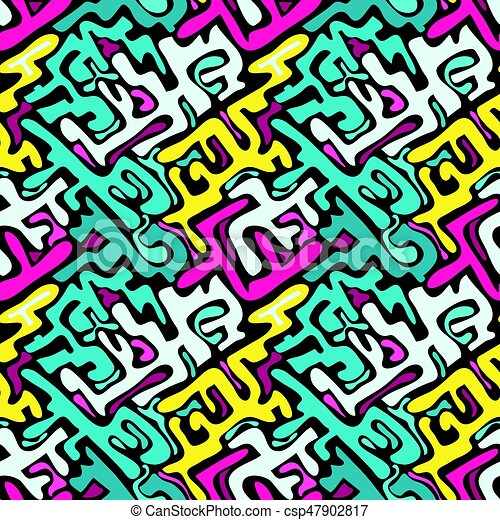 Graffiti Farben.Graffiti Farben Nahtlos