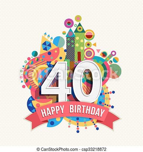 Herzlichen Glückwunsch Zum 40