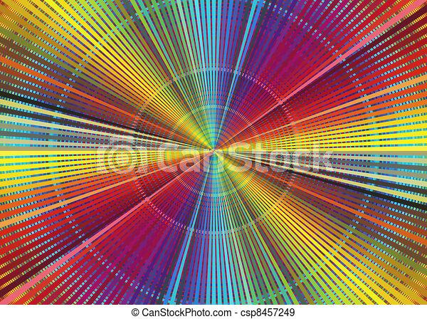 Farbe, regenbogen, tabelle. Dekorativ, geschaeftswelt, plakat ...