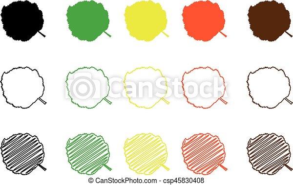 Farbe, satz, blatt, haselnuß. Blatt, farbe, blatt, haselnuß ...