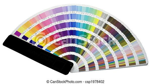 farbe, skala - csp1978402