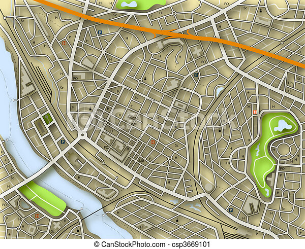 Stadtfarbe - csp3669101