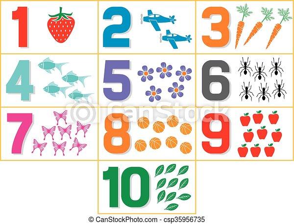 Farben, kinder, lernen. Kinderspiel, kindergarten, farben ...