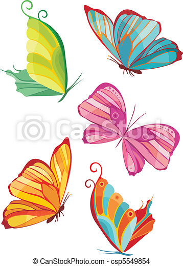 farfalla, set - csp5549854