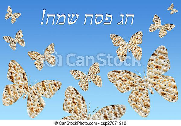 farfalle, gregge, matzo - csp27071912