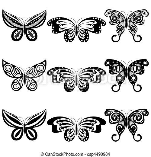 farfalle, set - csp4490984