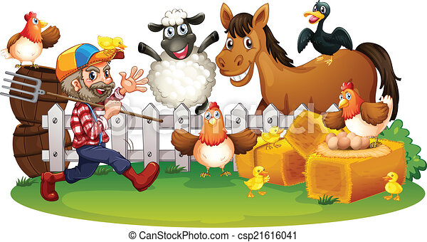 Farm animals - csp21616041