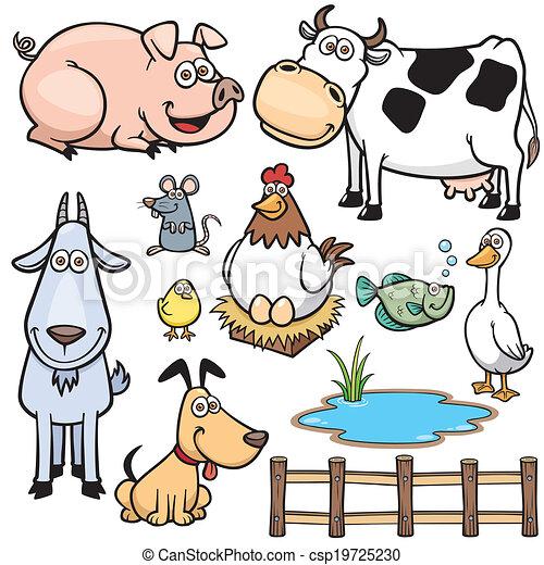 Farm Animals - csp19725230