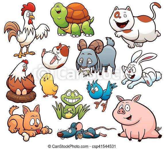 Farm Animals - csp41544531