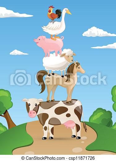 Farm Animals - csp11871726