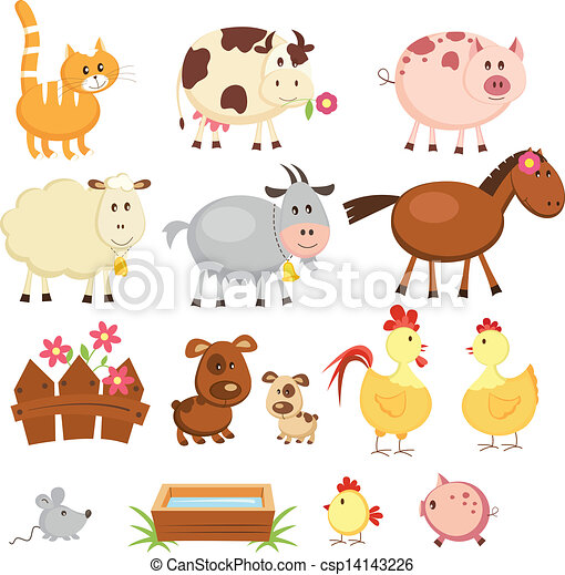 Farm animals - csp14143226