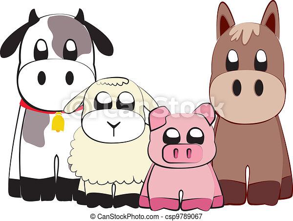 Farm animals - csp9789067