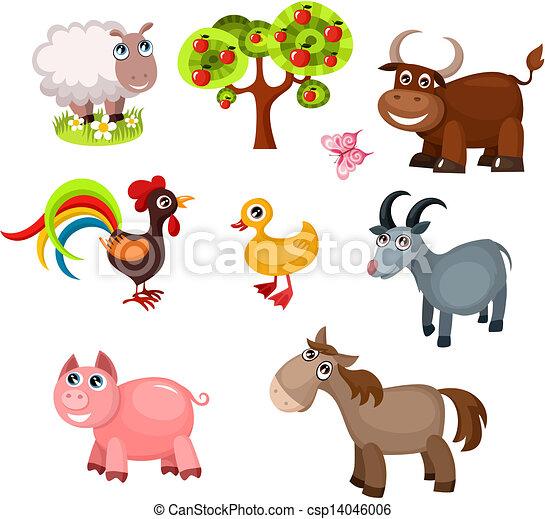 farm animals - csp14046006