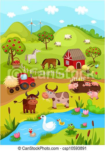 farm card - csp10593891
