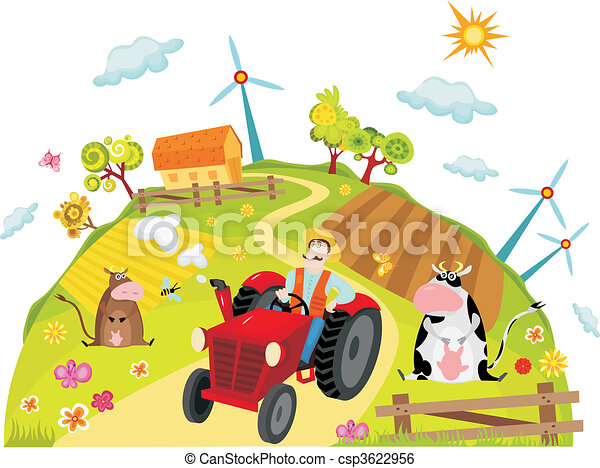 farm - csp3622956