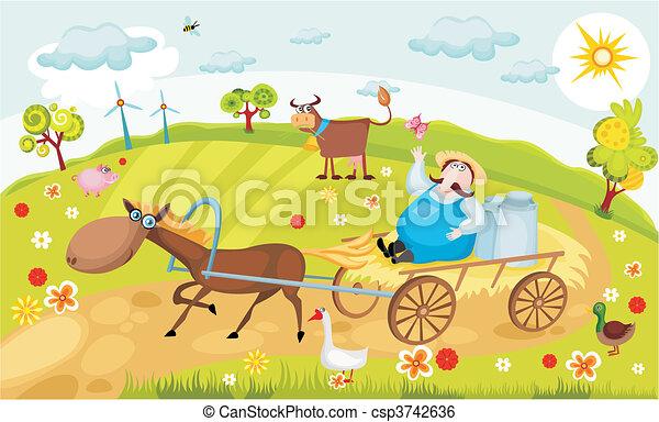farm - csp3742636