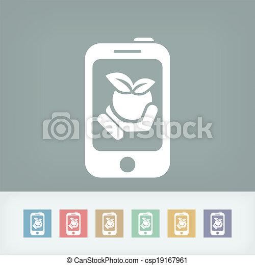 Farm contact icon - csp19167961