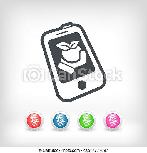 Farm contact icon - csp17777897