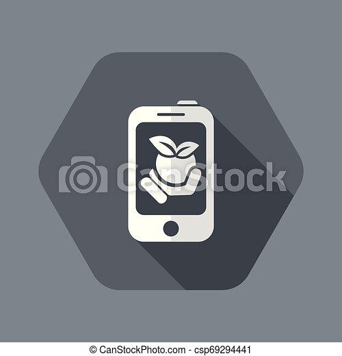 Farm contact icon - csp69294441