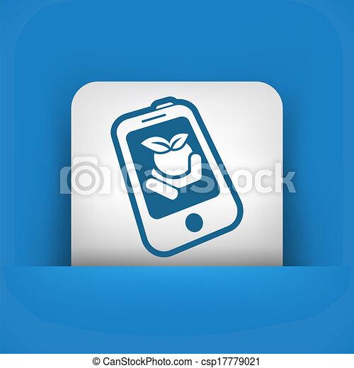 Farm contact icon - csp17779021