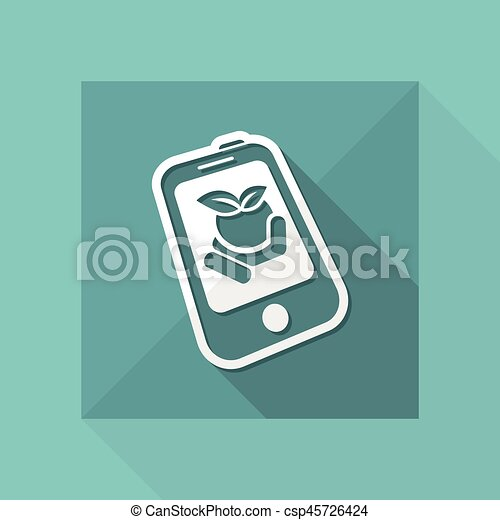 Farm contact icon - csp45726424