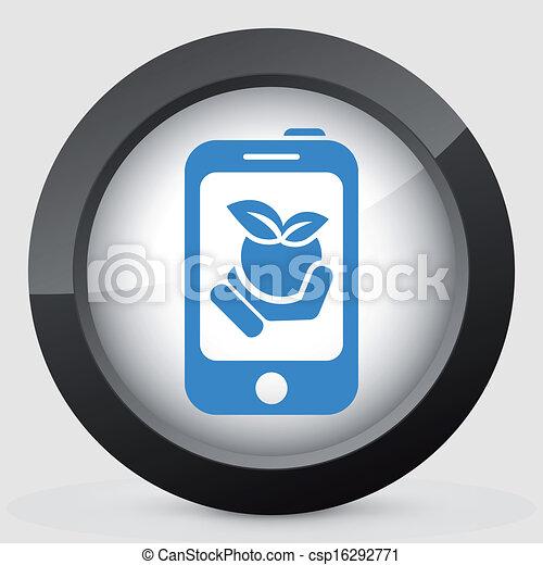 Farm contact icon - csp16292771