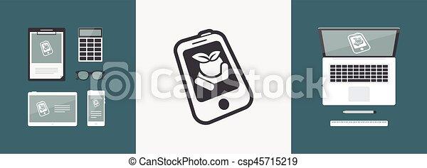 Farm contact icon - csp45715219