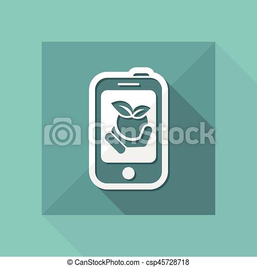 Farm contact icon - csp45728718