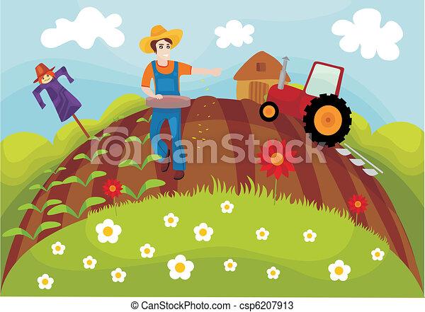 farm - csp6207913
