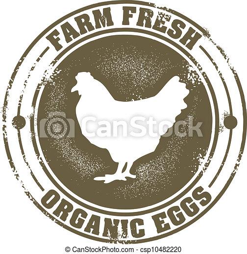 Vintage Farm Fresh Eggs Sign Vector Illustration Search