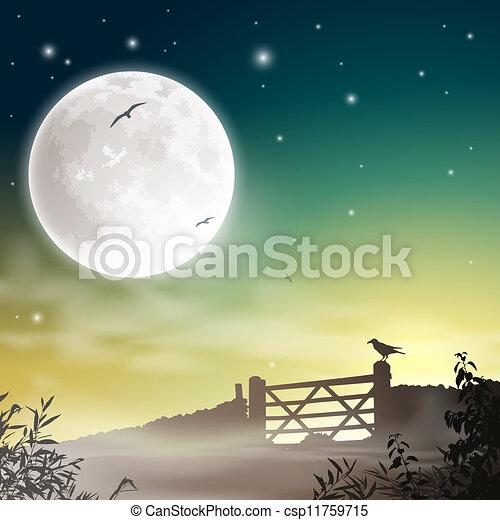 Farm Gate - csp11759715