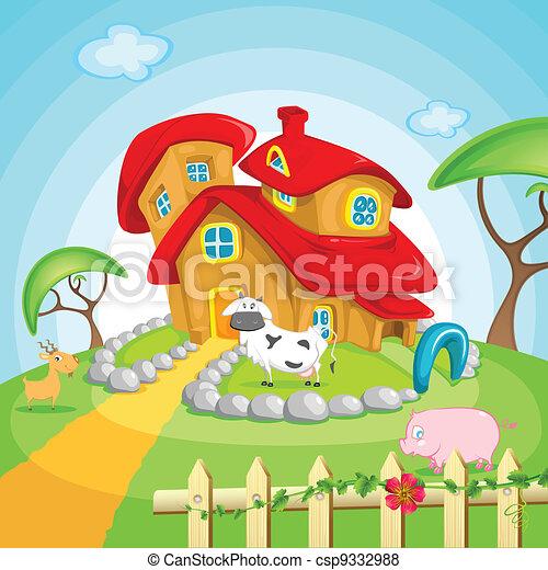 Farm House - csp9332988