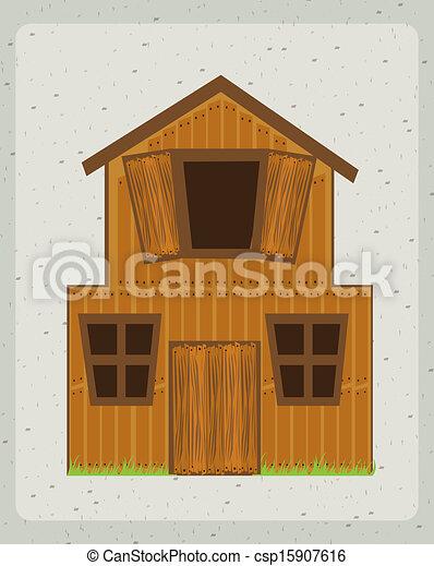 farm house - csp15907616