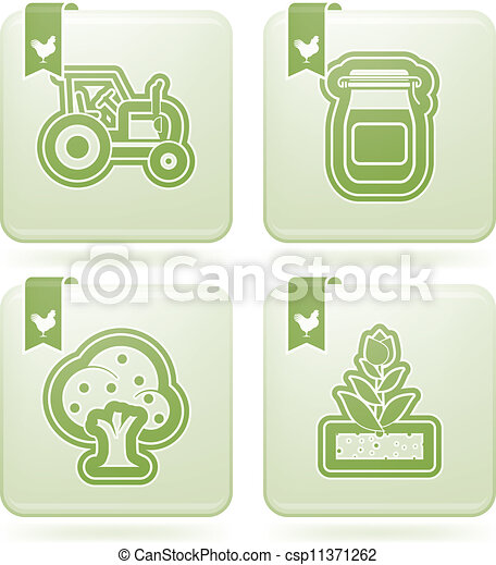 Farm Icons - csp11371262