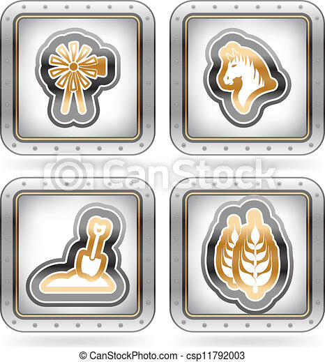 Farm Icons - csp11792003