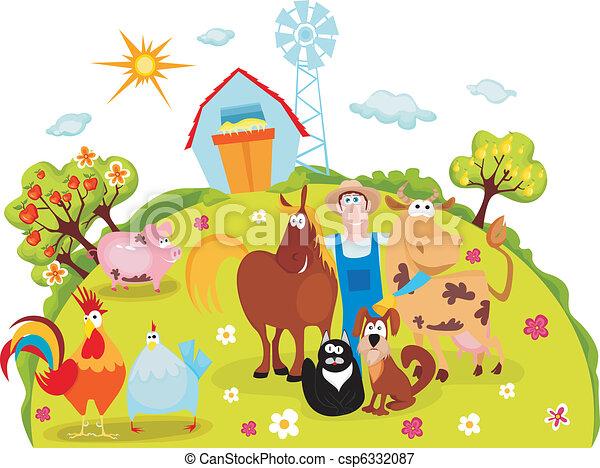 farm - csp6332087