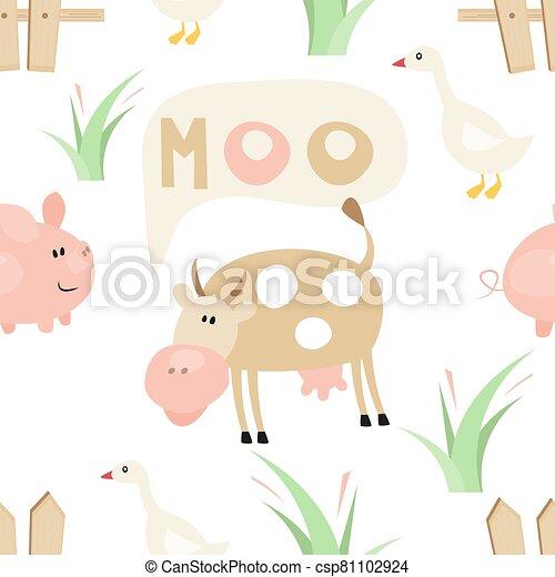Farm Seamless pattern - csp81102924