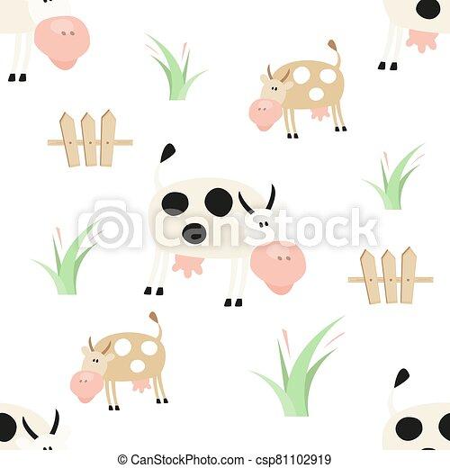 Farm Seamless pattern - csp81102919