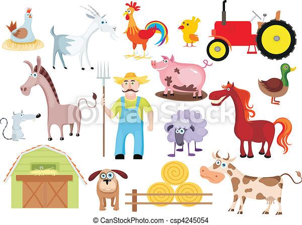 farm set - csp4245054