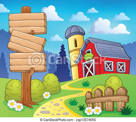 Farm theme image 8 - csp13574055