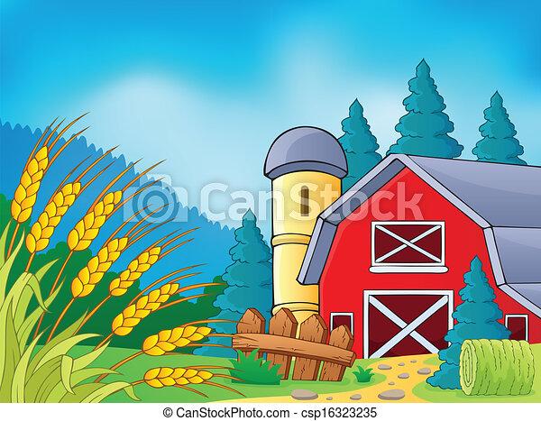Farm theme image 9 - csp16323235