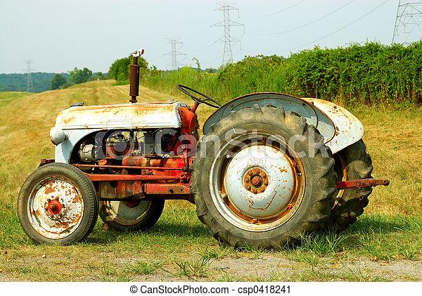 Farm Tractor - csp0418241