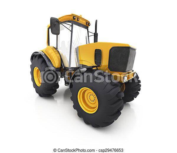 Farm tractor - csp29476653