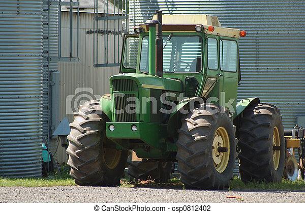Farm Tractor - csp0812402