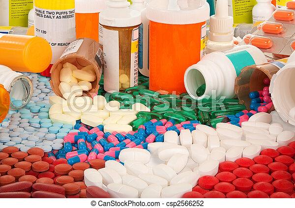 farmacêutico, produtos - csp2566252