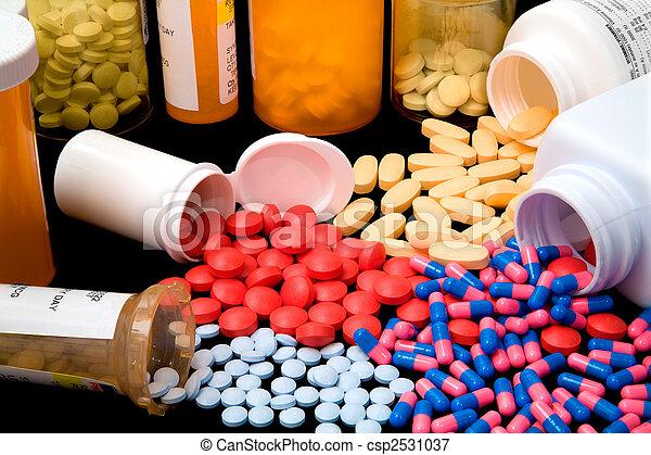 farmacêutico, produtos - csp2531037